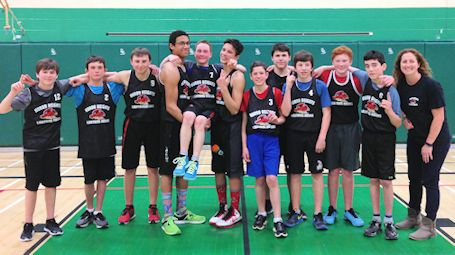 Huron Heights Lightning Hawks win KDSS boys basketball tournament
