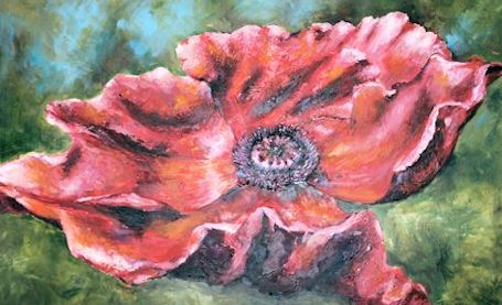 "Members work showcased in ""Poppies"" and ""Winter"" at Victoria Park Gallery"