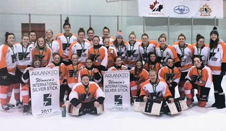 Kincardine Peewee, Midget girls bring home Silver Stick banners