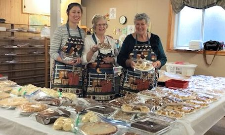Great crowd turns out for annual Kountry Kitchen bazaar