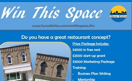 Huron-Kinloss welcomes entries in its Win This Space competition