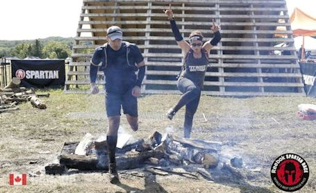 Brother and sister of Ripley compete at Obstacle Course Race world championships