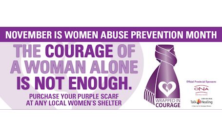 Women's House urges everyone to participate in Wrapped in Courage campaign