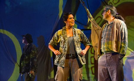 "Blyth's world premiere of ""Ipperwash"" is a long, sad tale of woe"