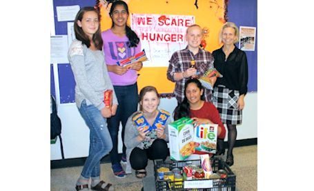 KDSS Me to We group holds fund-raisers for food bank, and Spread the Net