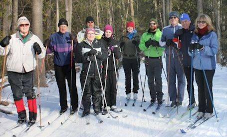Perfect weather for ski races, Community Loppet at Stoney Island