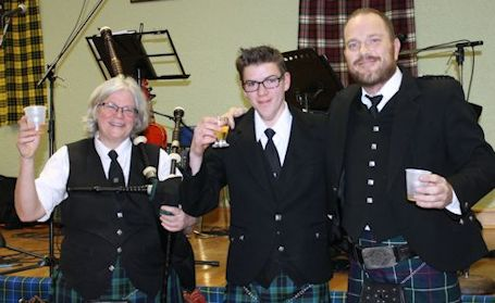 Another sold-out crowd enjoys great food, fabulous entertainment at 24th Robbie Burns Supper
