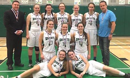KDSS senior girls miss CWOSSA basketball championship by one point