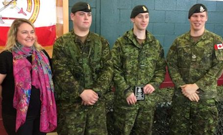 The Kincardine Record Kdss Students Graduate From Military Co Op