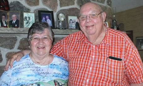 Ernie and Doris Young of Tiverton are 60 years married Oct. 5