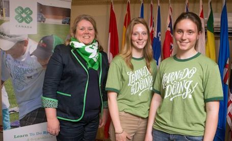 Donna Bridge is chairperson of Canadian 4-H Council; planning centennial celebration of 4-H