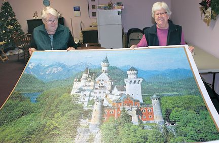 Group of seniors completes 6,000-piece puzzle at Forbes Lambton Court