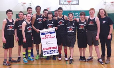 Huron Heights boys win Bluewater basketball championship