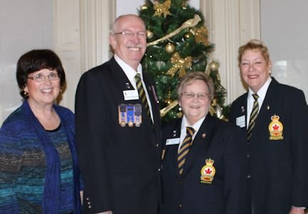 Kincardine Legion welcomes in the new year at annual levee