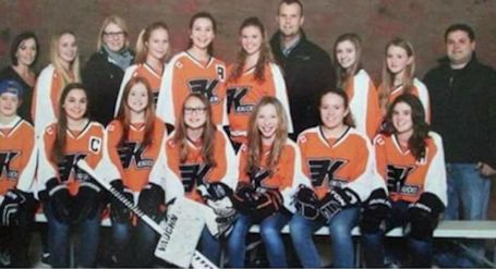 "Kincardine Lakeside Chevrolet Bantam ""B"" girls  advance to OWHA provincial championship"
