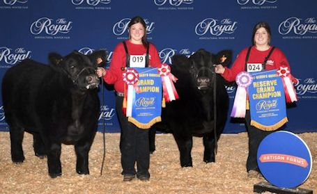 McConnell sisters make history at Royal Winter Fair; and recognition for other local youth