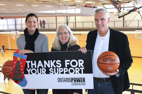 OPG continues to support youth basketball program in Kincardine