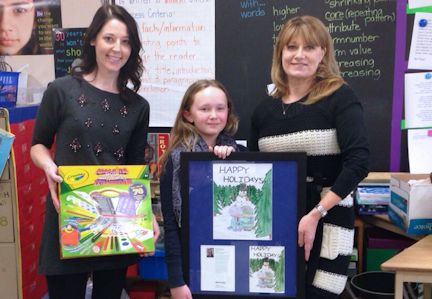 Huron Heights Public School student wins Bruce Power Holiday Art contest